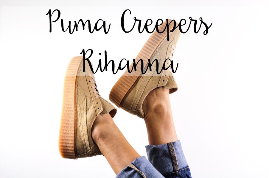 zapatillas puma by rihanna creeper